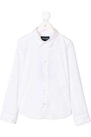 Emporio Armani Jongens T-shirts - Classic buttoned shirt