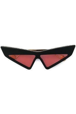 Gucci Studded futuristic sunglasses