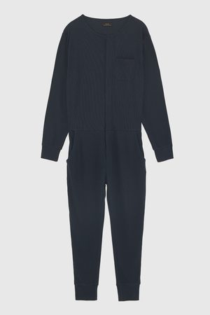 Zara JUMPSUIT IN PYJAMASTIJL