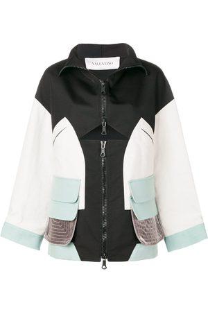 VALENTINO Technical panelled sports jacket