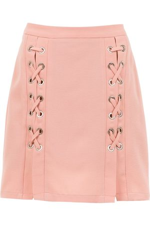 Olympiah Lace up Messina skirt