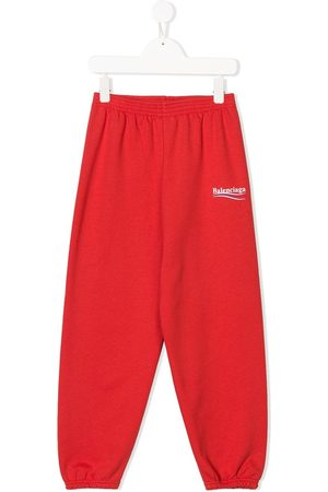 Balenciaga Logo print track pants