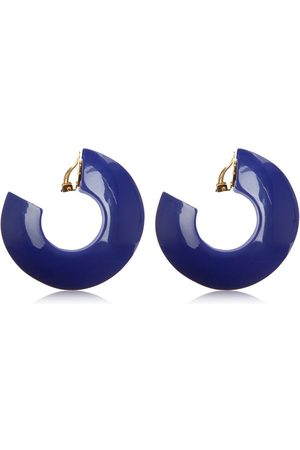 Marni Dames Oorbellen - Enameled Hoop Clip-on Earrings