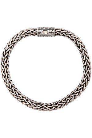 John Hardy Silver Classic Chain Flat Chain Bracelet