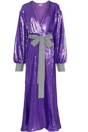 Natasha Zinko Sequin embellished maxi robe dress
