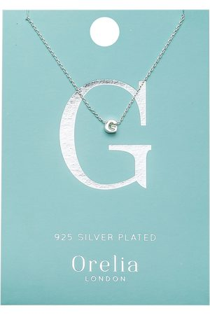 Orelia Kettingen Necklace Initial G