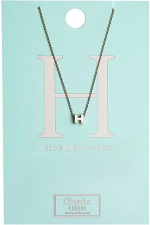 Orelia Kettingen Necklace Initial H