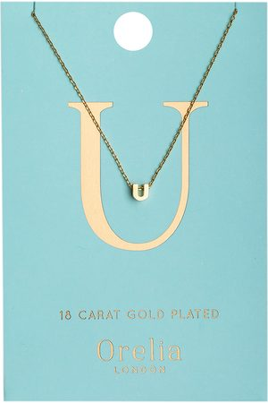Orelia Kettingen Necklace Initial U