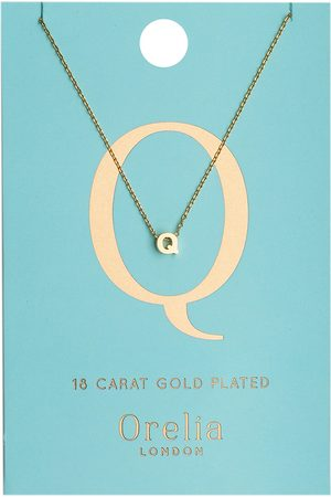 Orelia Kettingen Necklace Initial Q