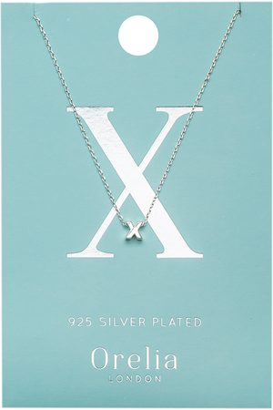 Orelia Kettingen Necklace Initial X