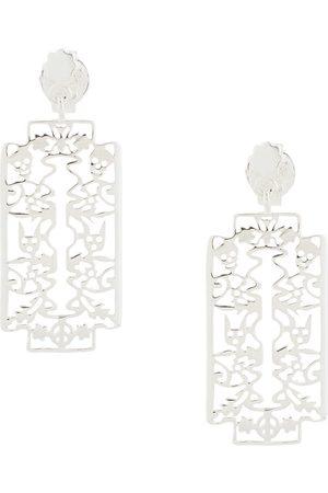 Karen Walker Razor earrings