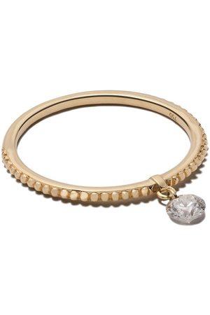 Raphaele Canot 18kt yellow Set Free Diamond beaded ring