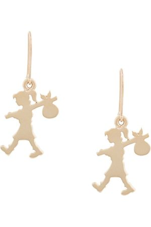Karen Walker 9kt Runaway Girl earrings