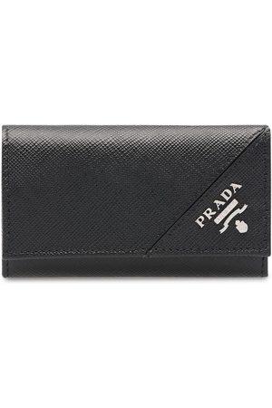 Prada Logo keychain wallet