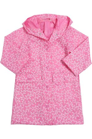 Stella McCartney Star Printed Pvc Rain Coat