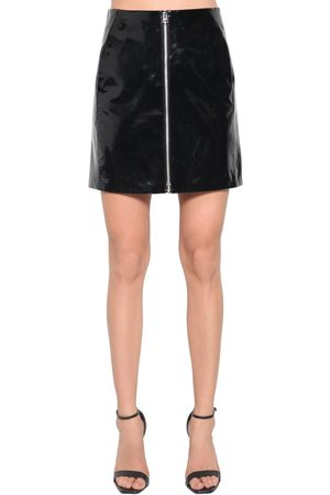 RAG&BONE High Waist Patent Leather Mini Skirt
