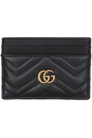 Gucci Gg Marmont Quilted Leather Card Holder