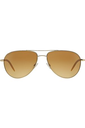 Oliver Peoples Classic aviator sunglasses