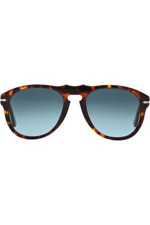 Persol Tortoiseshell-effect round sunglasses