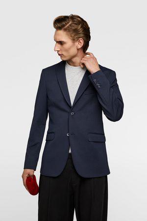 Zara Comfortabele blazer met gebreide structuur