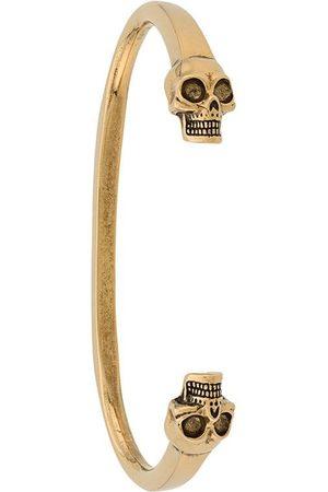 Alexander McQueen Heren Armbanden - Skulls cuff