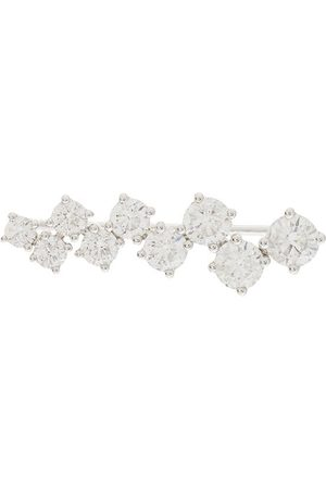 ALINKA 18kt white gold EVA diamond ear cuff