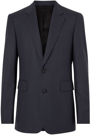 Burberry Heren Wollen jassen - Classic Fit Pinstripe Wool Tailored Jacket
