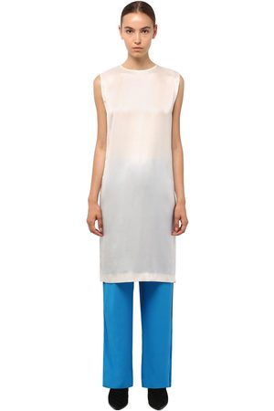 Haider Ackermann Long Silk Satin Tunic