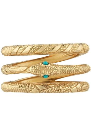 Gucci Three Band Ouroboros ring