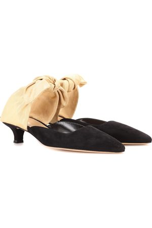 The Row Dames Clogs - Coco suede mules