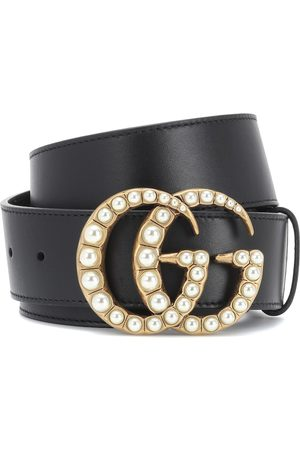 Gucci Embellished leather belt