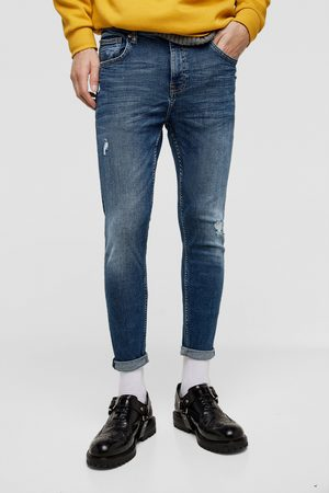 Zara DENIM CARROT MET SCHEUREN