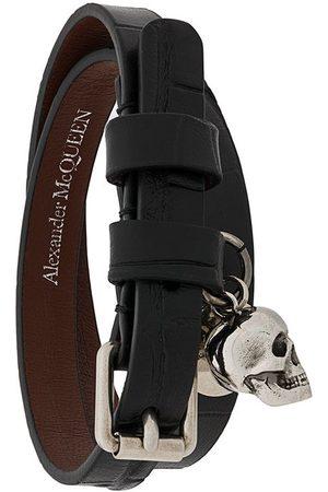 Alexander McQueen Heren Armbanden - Skull wrap bracelet