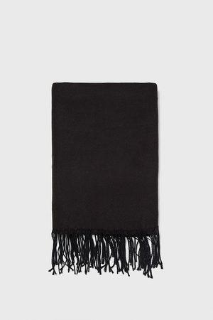 Zara Effen sjaal met franjes