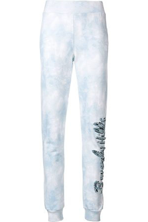 Philipp Plein Beverly Hills crystal embellished track pants