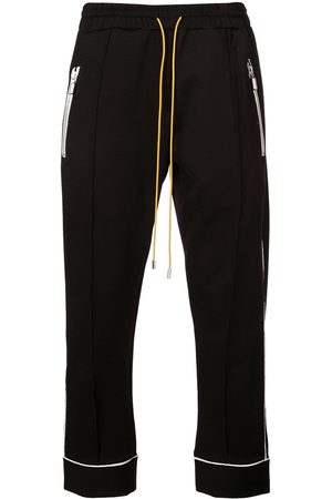 Rhude Contrasting trim track trousers