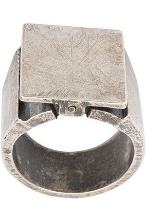 TOBIAS WISTISEN Swing signet ring
