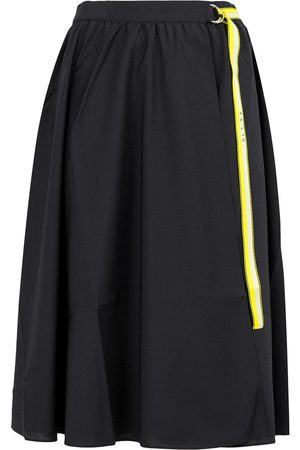 AALTO Belted wrap front skirt