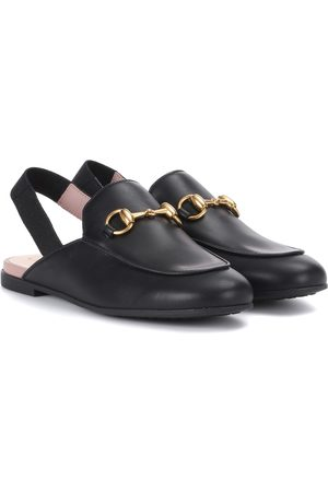 Gucci Dames Slippers - Princetown leather slippers