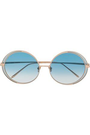 Linda Farrow Round shaped sunglasses