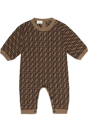 Fendi Cotton and cashmere onesie
