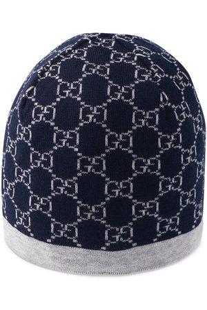 Gucci Children's GG pattern wool hat