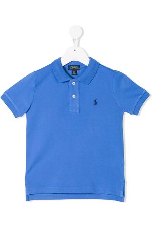 Ralph Lauren Logo embroidered polo shirt
