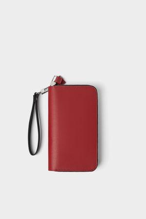 Zara Oversized portefeuille met dubbele ritssluiting