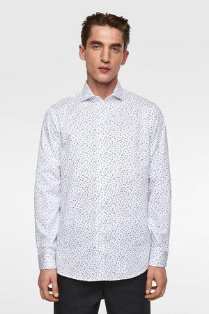 Zara Satijnachtige blouse met bloemenprint