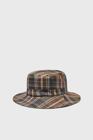 Zara Zachte geruite hoed