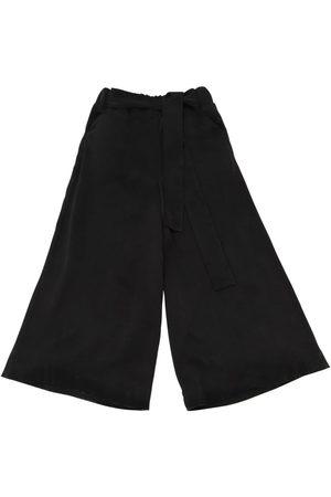 Unlabel Wide Leg Cupro Pants