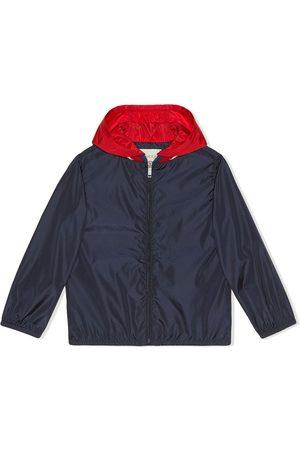Gucci Children's nylon jacket with Gucci logo