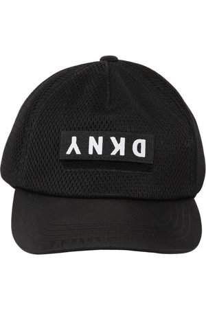 DKNY Logo Patch Mesh Baseball Hat