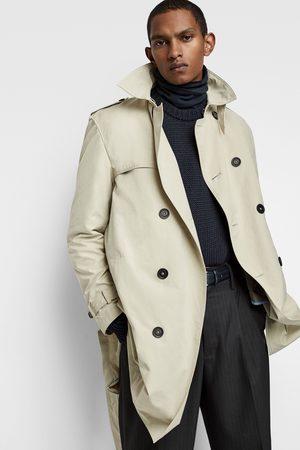 Zara Waterafstotende trenchcoat